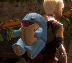 New Plush Quaggan Backpack Cover