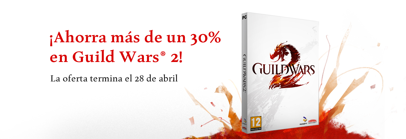 Guild Wars 2 en oferta hasta el 28 8056fApril_Pulse_HomeBanner_ES