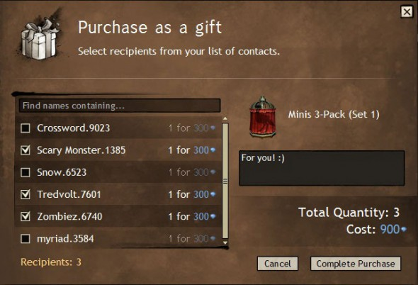 Send Gem Store Items to Your Friends with Gifting! | GuildWars2 com
