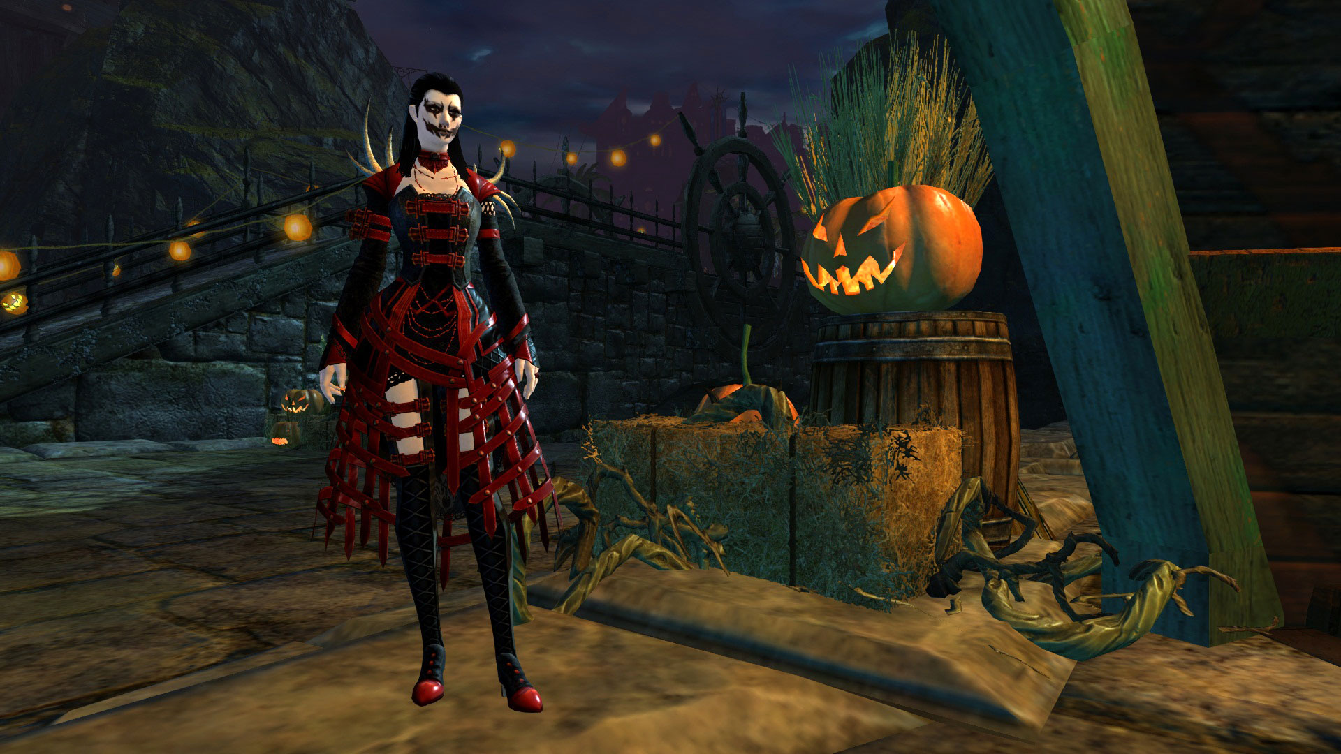 Guild Wars 2 Mad King, Bloody Prince, and Other Halloween Outfits ...