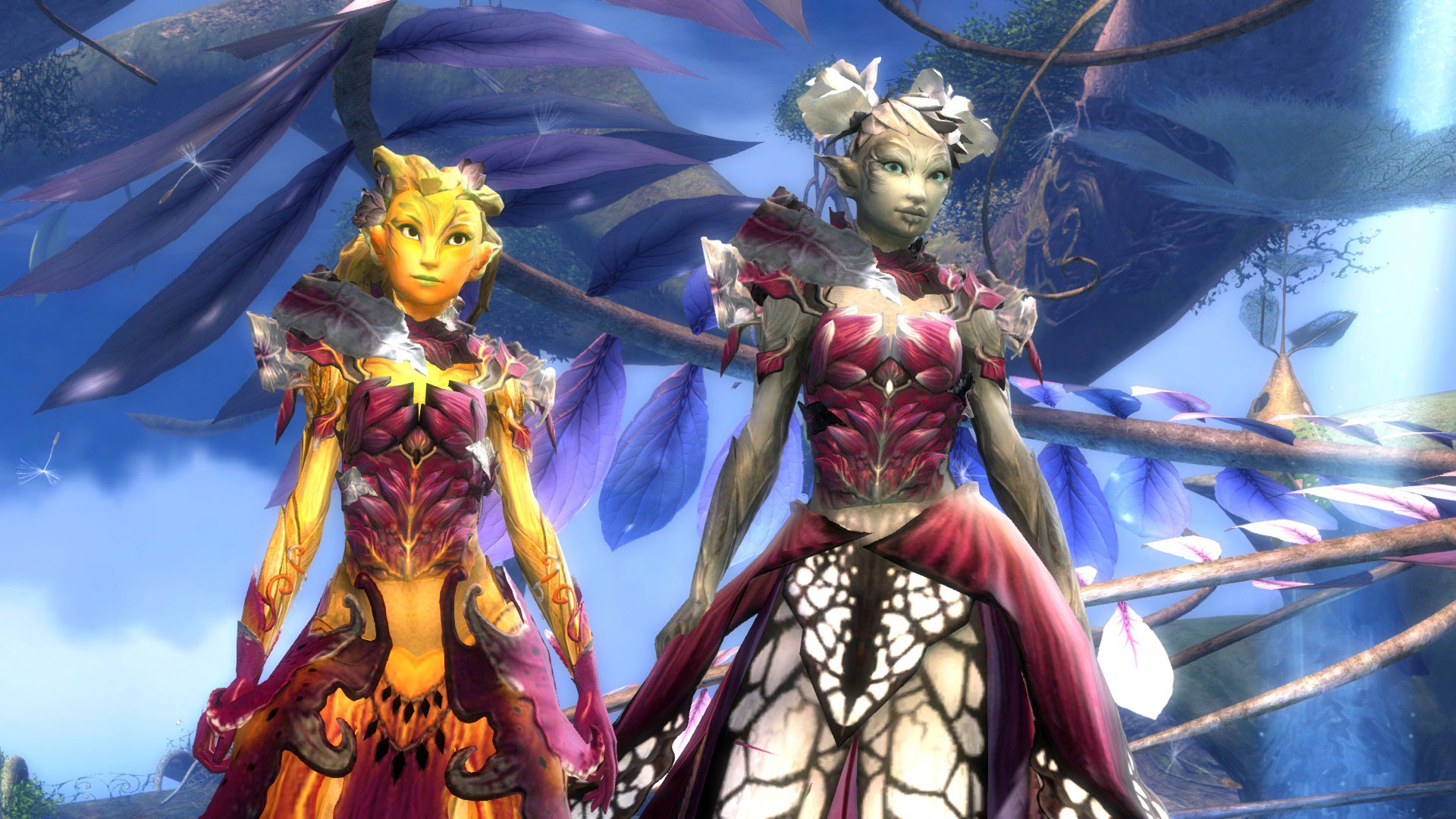 Dyes in the New Account Wardrobe | GuildWars2 com