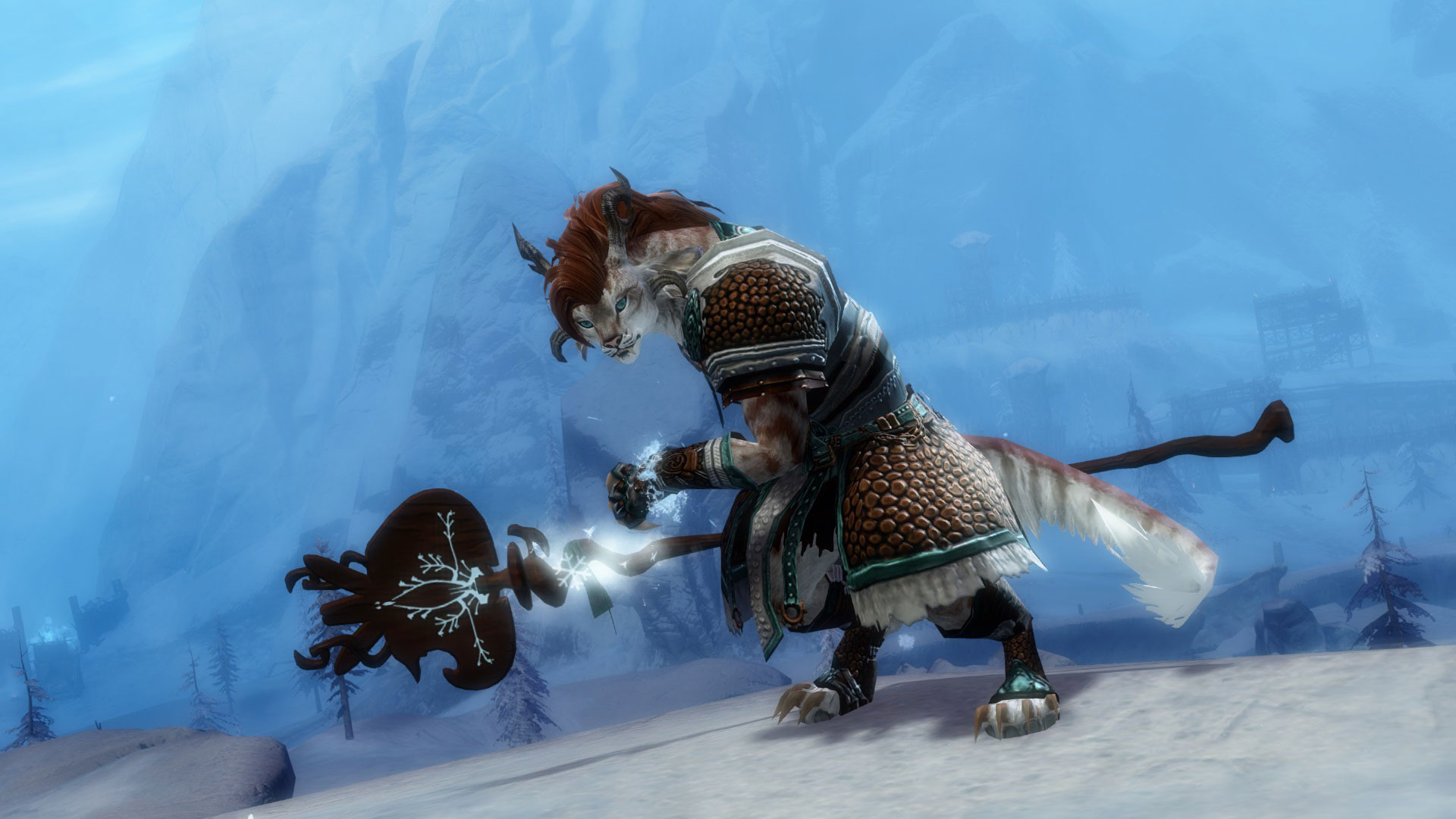 Guild Wars 2 New Ancestral Outfit and Mini Jaguar Cub in the Gem