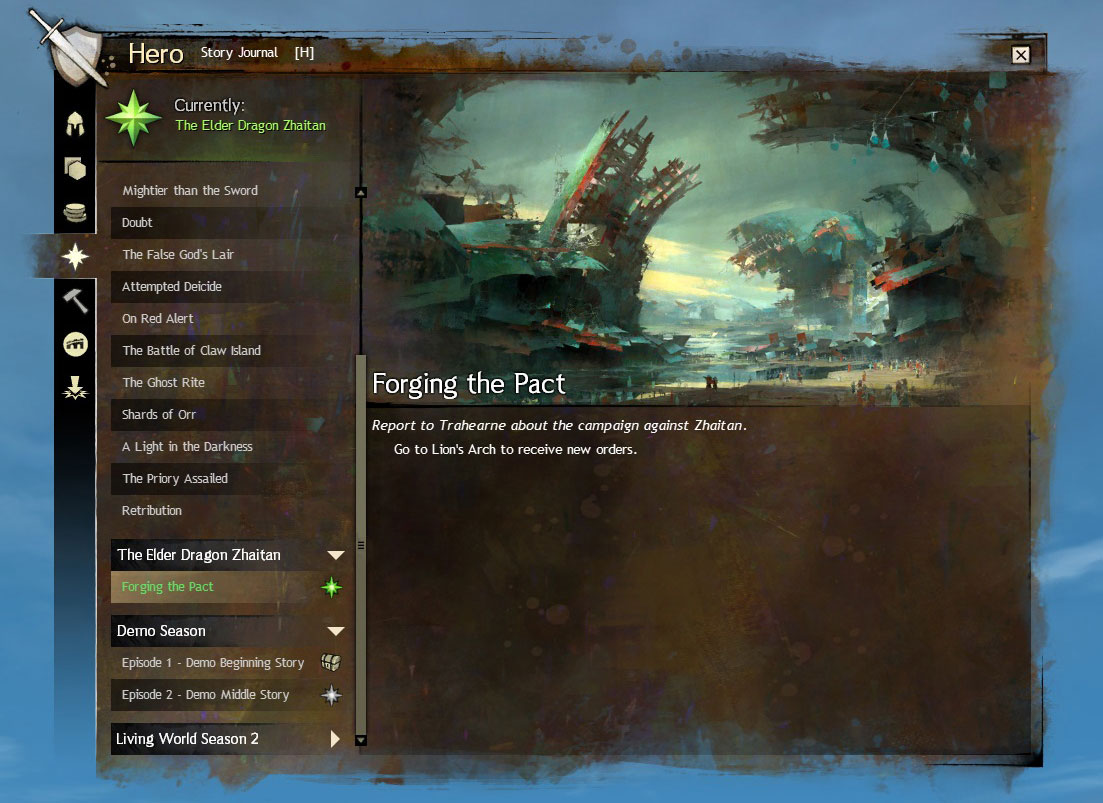 Introducing the Story Journal | GuildWars2 com