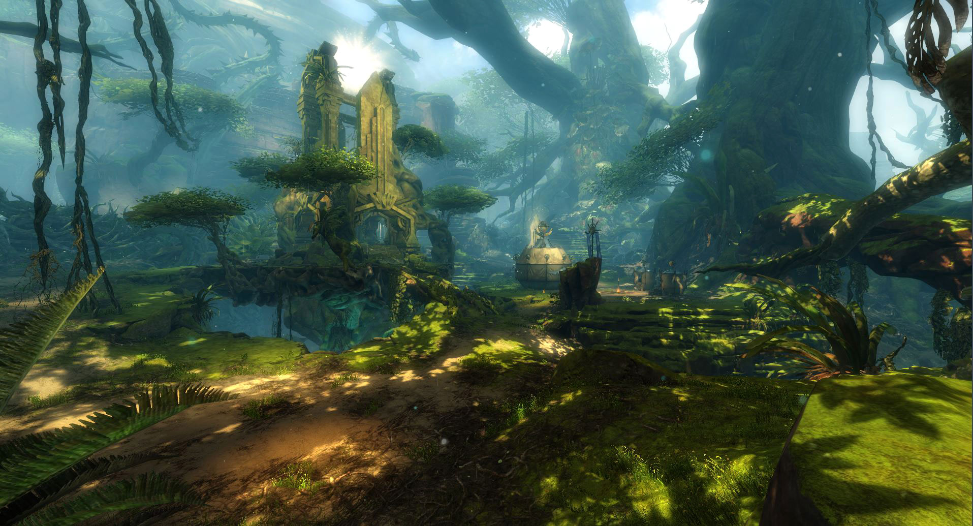 Guild Wars 1 World Map.Journey Into The Heart Of Maguuma In Guild Wars 2 Heart Of Thorns
