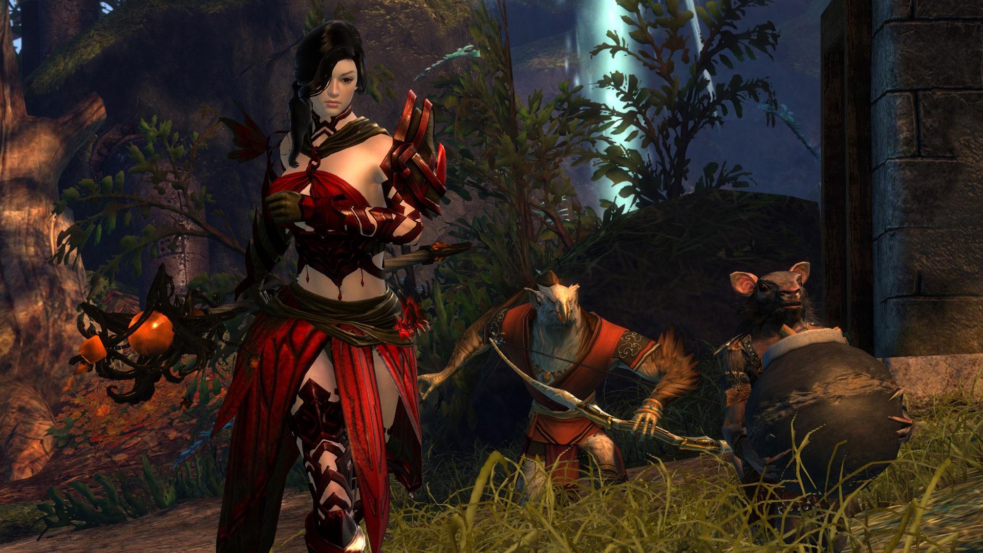 Guild Wars  Dragonhunter Pvp Build