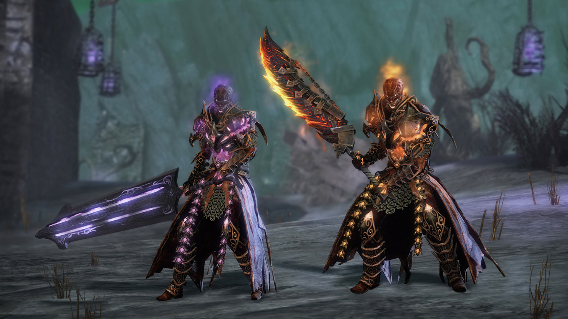 Lunatic Guard Outfit, Ghoul Backpack and Mad King's Dye Kit in the ...