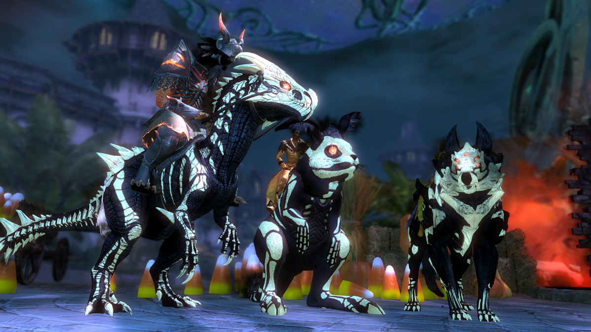 Dress Up Your Mounts for Halloween! | GuildWars2.com