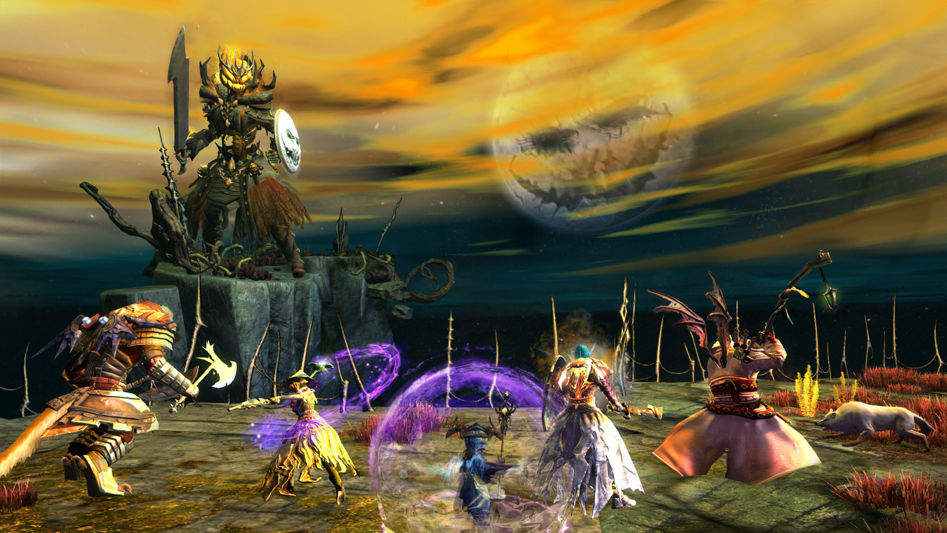 Shadow of the Mad King | GuildWars2.com
