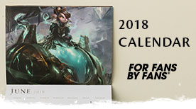 Brand New 2018 Guild Wars 2 Calendar On Sale Now!
