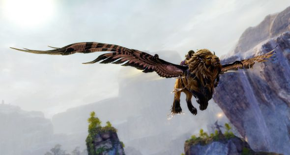 Guild Wars 2: Rule the Skies on Your Grand Lion! - Pivotal