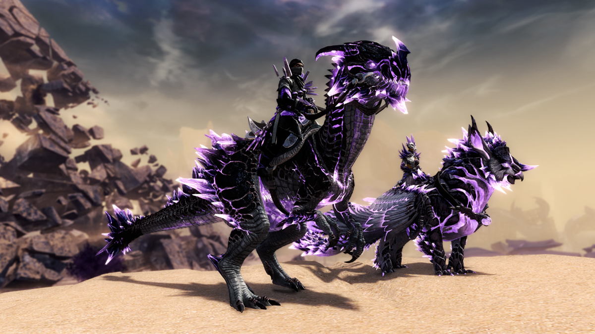 Give Your Mounts a Sinister Sparkle with the Branded Mounts