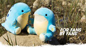 Pre-order Blue and Pink Quaggan Plush – Only at For Fans By Fans.