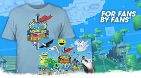 Produits du Festival de la Super Adventure à For Fans by Fans