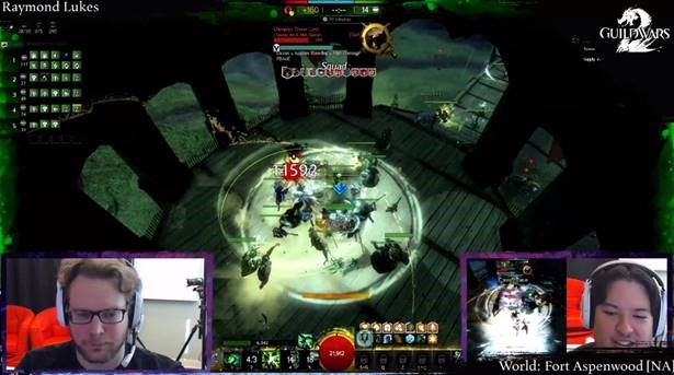 The ArenaNet Streaming Schedule for the Week of 17 February