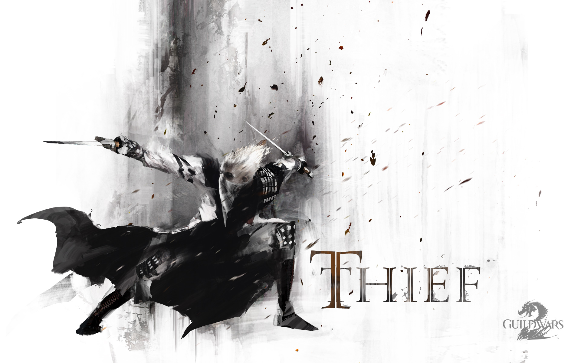 The Thief - silently sneak your way to your target and slice their throat open!